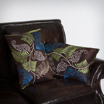 Yasmeen ferns Throw Pillow