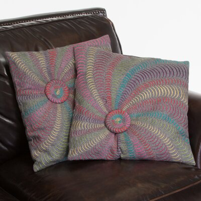 Harmony Flannel Starburst Throw Pillow