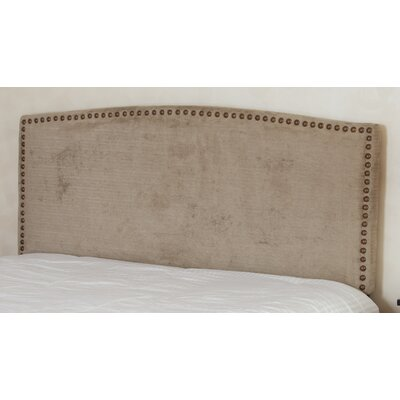 Carlsbad Upholstered Panel Headboard Color: Champagne