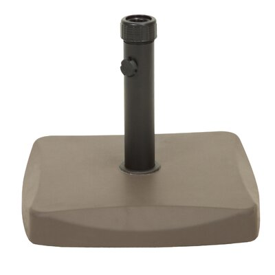 Evander Concrete and Steel Umbrella Base