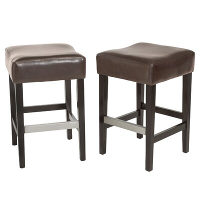 Exclusives 30.71 Bar Stool Color: Brown, Seat Height: Bar