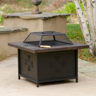 Lestar Iron Charcoal Fire Pit Table