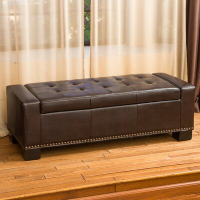 Davers Fabric Storage Bedroom Bench