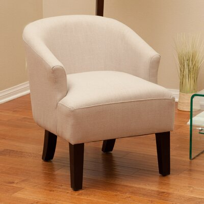 Baltic Barrel Chair Upholstery: Putty