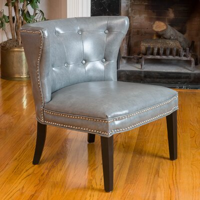 Theodore Barrel Chair Upholstery: Grey