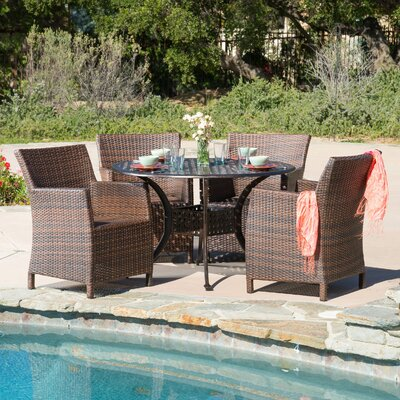 Alison 5 Piece Dining Set