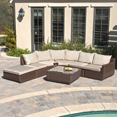 Hawley 6 Piece Lounge Seating Group with Cushions