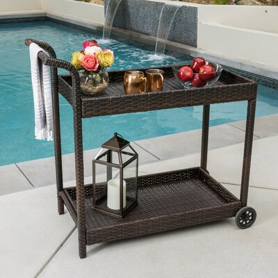Brayden Studio Marchese Bar Serving Cart
