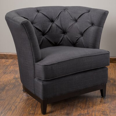 Princeville Tufted Barrel Chair