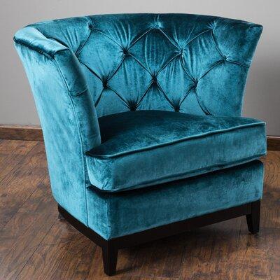 Princeville Tufted Barrel Chair