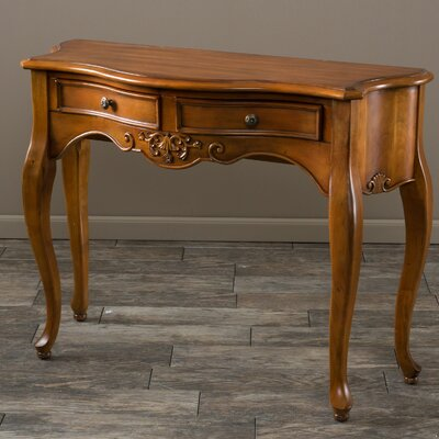 Victorian 2 Drawer Console Table