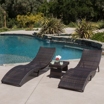 Norco 3 Piece Chaise Lounge Set