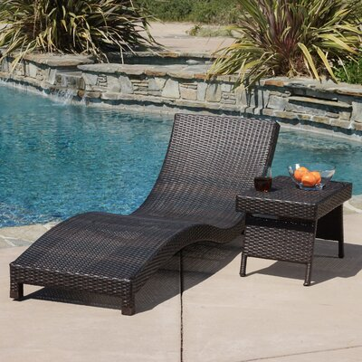 Cabrillo 2 Piece Chaise Lounge Set