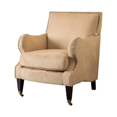Gregory Club Chair Color: Fawn