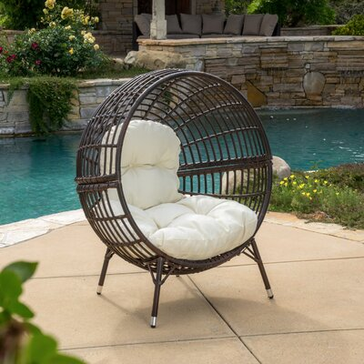Brayden Studio Mcanally Round Ball Chair with Cushions