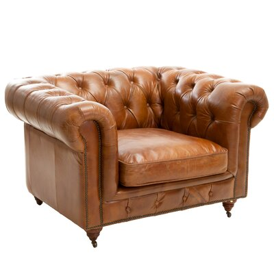 Clairent Tufted Chesterfield Chair