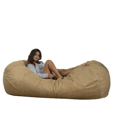 Larson Bean Bag Sofa Upholstery: Tuscany Tan