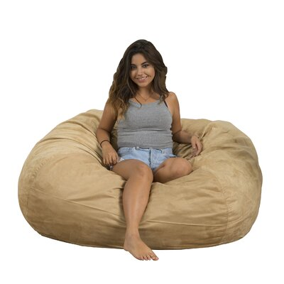 Madison Bean Bag Lounger Upholstery: Tuscany Tan