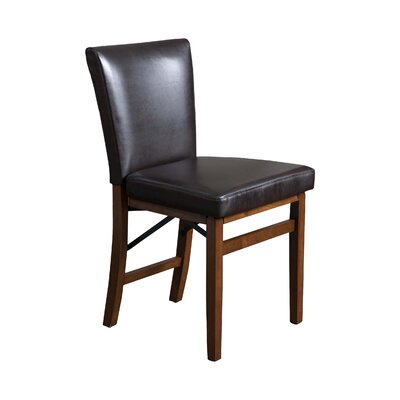 Lane Genuine Leather Upholstered Dining Chair