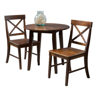 Derek 3 Piece Bistro Set