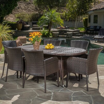 Domingo 7 Piece Dining Set