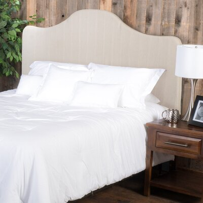 Ashland King Upholstered Panel Headboard Upholstery: Natural