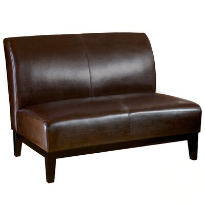 ZIPC2858 28027371 ZIPC2858 Zipcode™ Design Bonded Leather Loveseat