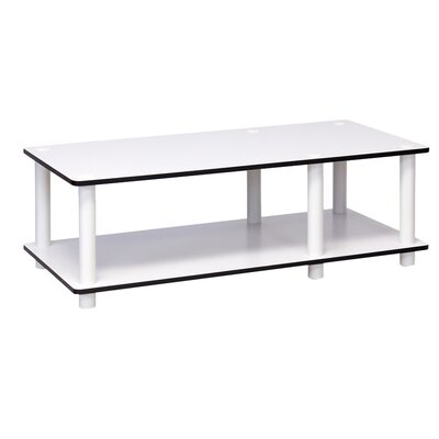 32 TV Stand Color: White