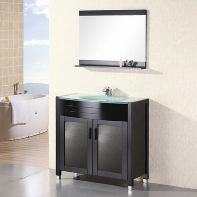 Remi 36 Single Bathroom Vanity Set with Mirror