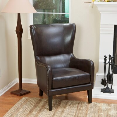 Lorenzo Bonded Leather Club Chair