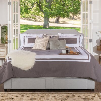 Arata Upholstered Storage Panel Bed Size: Cal-King