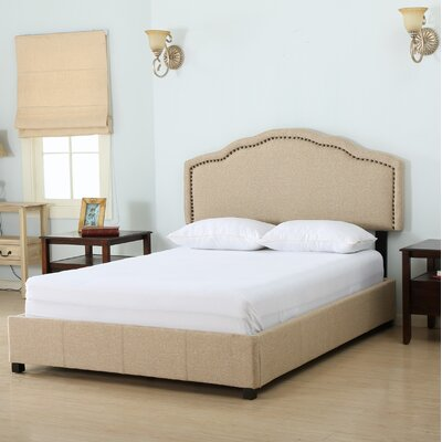 Full/Double Upholstered Panel Bed