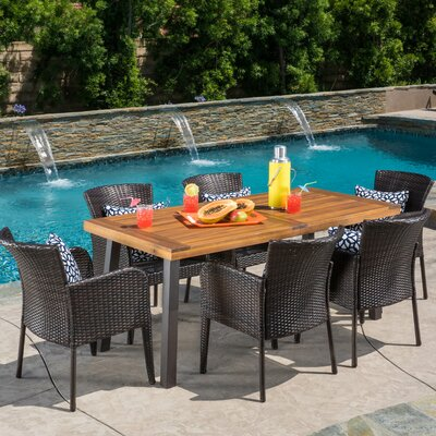 Arica 7 Piece Dining Set
