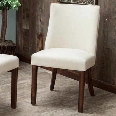 Dolcetto Side Chair Upholstery: Beige