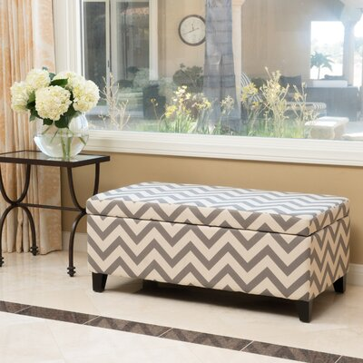 Connie Ottoman Finish: Dark Gray