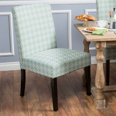 Matthews Side Chair Finish: Light Blue
