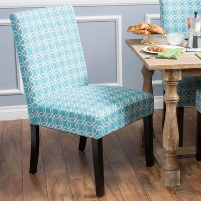 Matthews Side Chair Color: Blue
