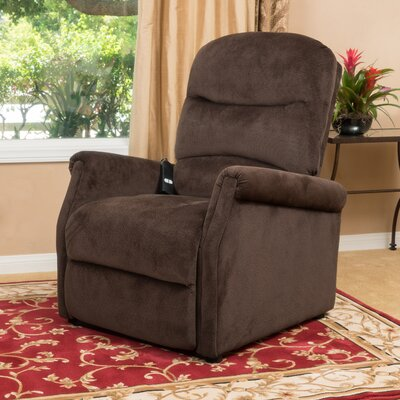 Josephson Power Lift Assist Recliner Color: Chocolate