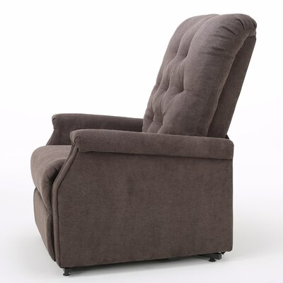 Patrice Power Lift Assist Recliner Color: Chocolate
