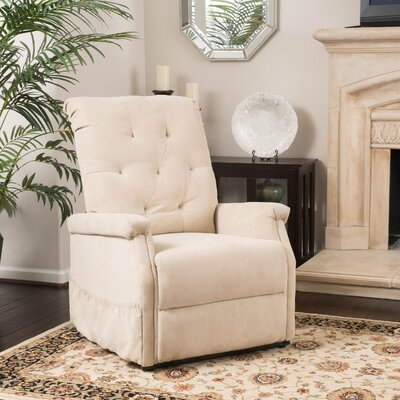 Patrice Power Lift Assist Recliner Color: Wheat