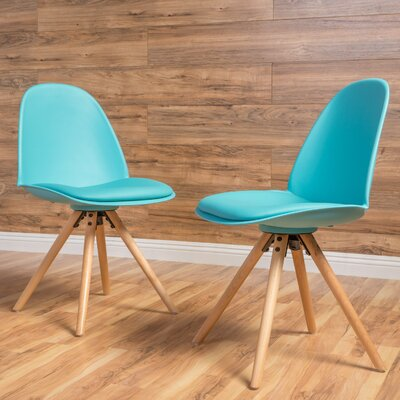 Bennett Side Chair Color: Light Blue