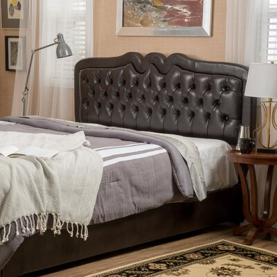 Zatch Upholstered Panel Bed Size: California King