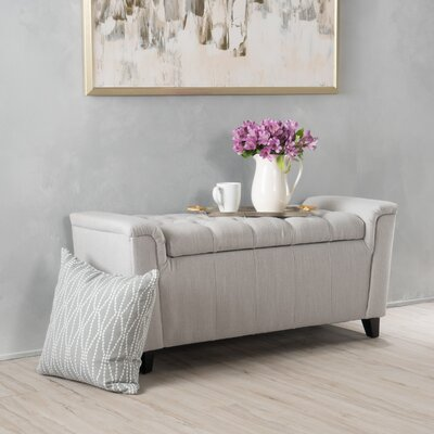 Collins Storage Ottoman Color: Ivory