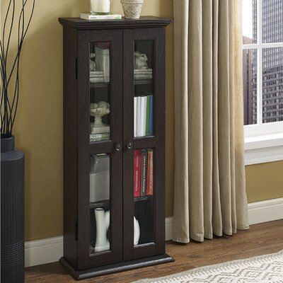 Wood DVD Multimedia Cabinet Finish: Espresso