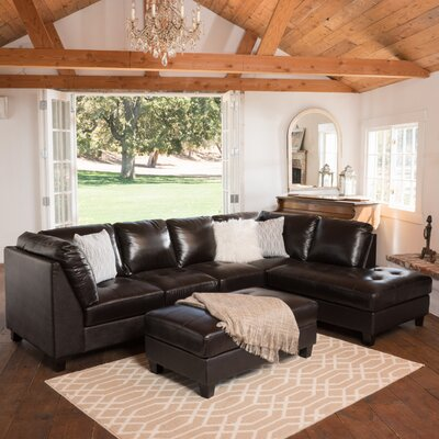 Daniel Leather Sectional