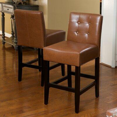 26 Bar Stool Upholstery: Hazelnut