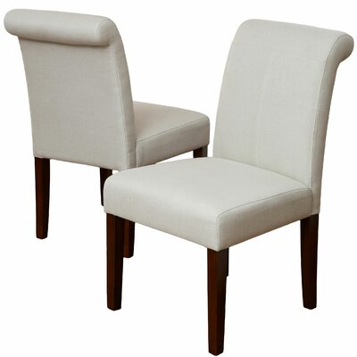 Canberra Roll-Top Side Chair