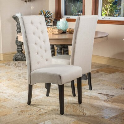 Hereford Dining Chair Upholstery: Natural