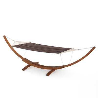 Ava Hammock with Base Color: Brown Charcoal