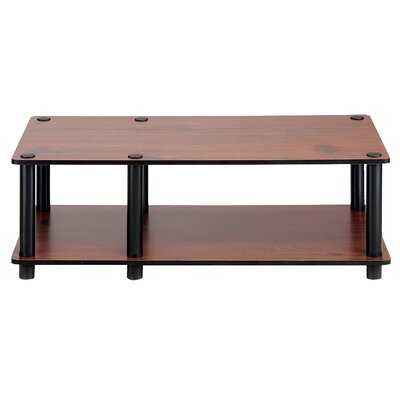 32 TV Stand Color: Dark Cherry/Black